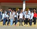 Ученици и учители от ПГЗ - Търговище в СУ